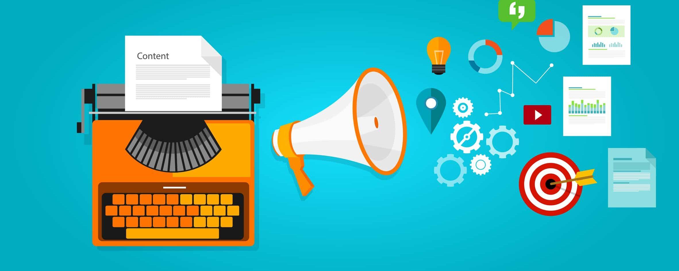 Créer du contenu pour ses sites
