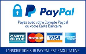 Solutions de paiement : carte bancaire et PayPal